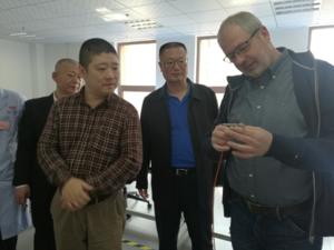 德国UST公司总裁欧拉夫先生赴润玖调研